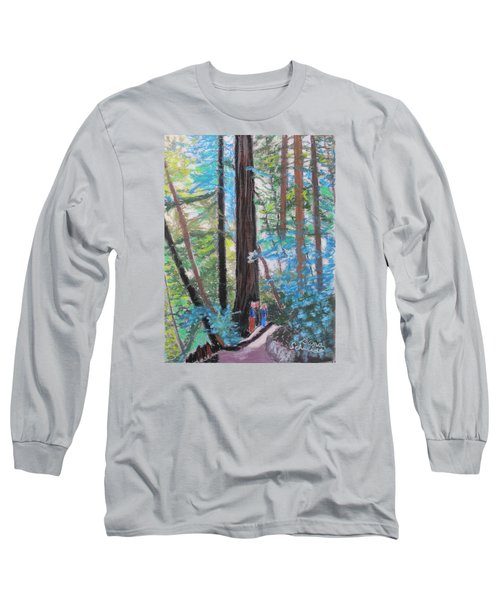 California Redwoods Near San Jose Long Sleeve T-Shirt