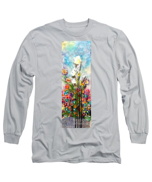 Calla Lily Dance Long Sleeve T-Shirt