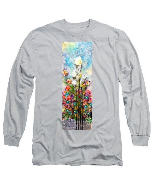 Calla Lily Dance Long Sleeve T-Shirt