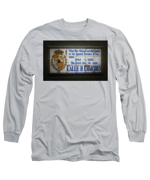 Calle De Chartres Long Sleeve T-Shirt