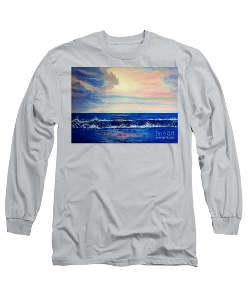 Calming Wave Long Sleeve T-Shirt