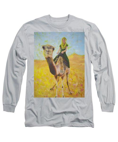 Camel At Work Long Sleeve T-Shirt
