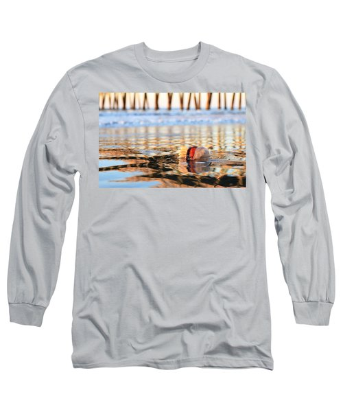 Cannonball Jellyfish Beached Long Sleeve T-Shirt