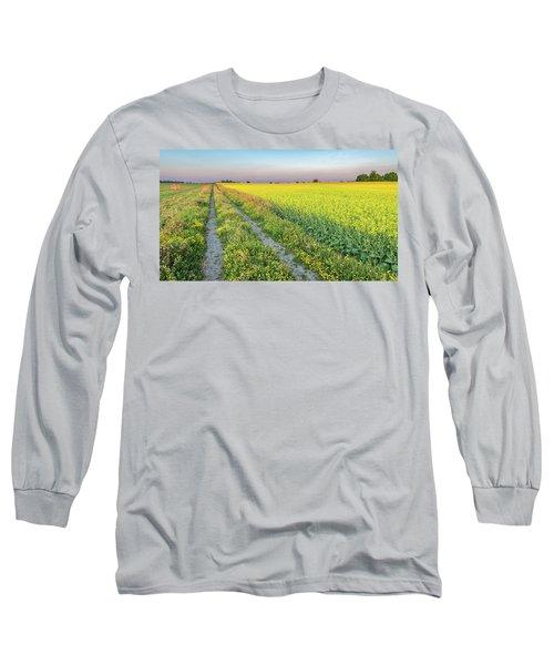 Canola Fields Long Sleeve T-Shirt