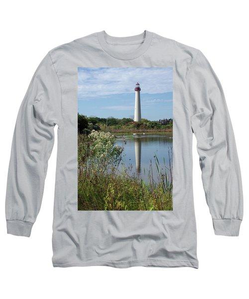 Cape May Lighthouse II Long Sleeve T-Shirt
