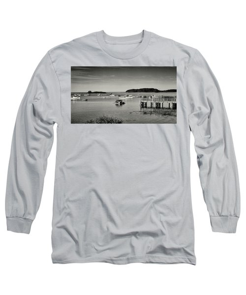 Cape Porpoise Harbor Long Sleeve T-Shirt