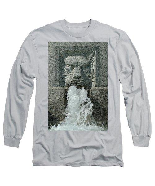 Senate Fountain Lion Long Sleeve T-Shirt