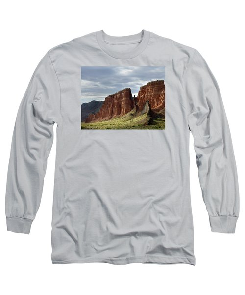 Capital Reef-cathedral Valley 9 Long Sleeve T-Shirt by Jeff Brunton