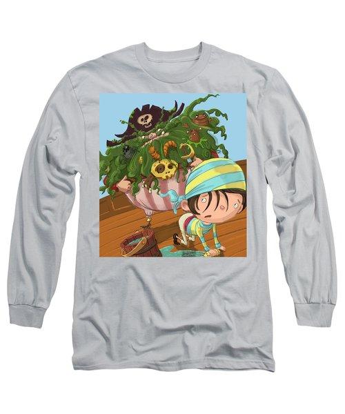 Captain Beard Long Sleeve T-Shirt