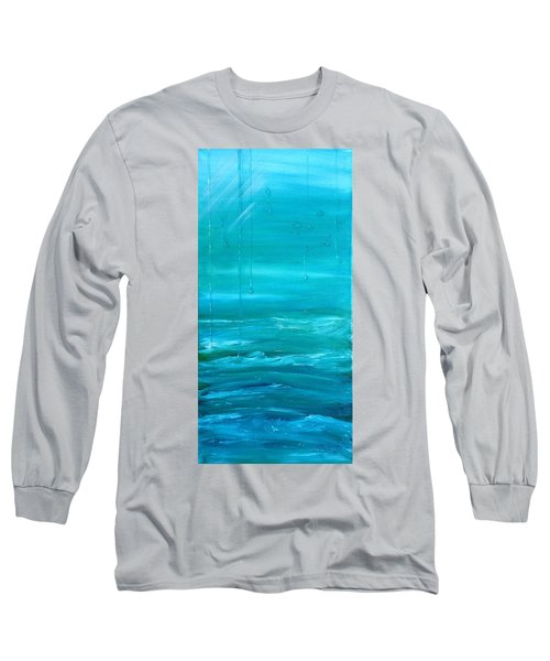 Captain's View Long Sleeve T-Shirt by T Fry-Green