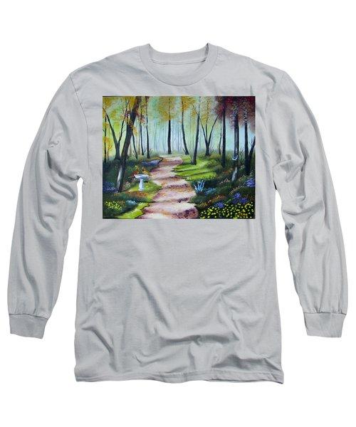 Cardinal Paradise Long Sleeve T-Shirt