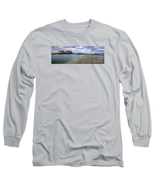 Carolina Inlet At Low Tide Long Sleeve T-Shirt by David Smith