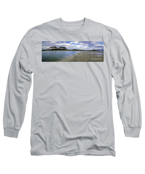 Carolina Inlet At Low Tide Long Sleeve T-Shirt