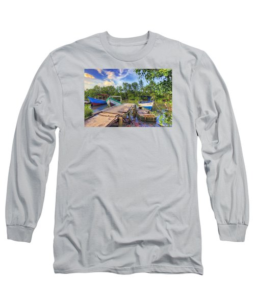 Caroni Swamp Long Sleeve T-Shirt