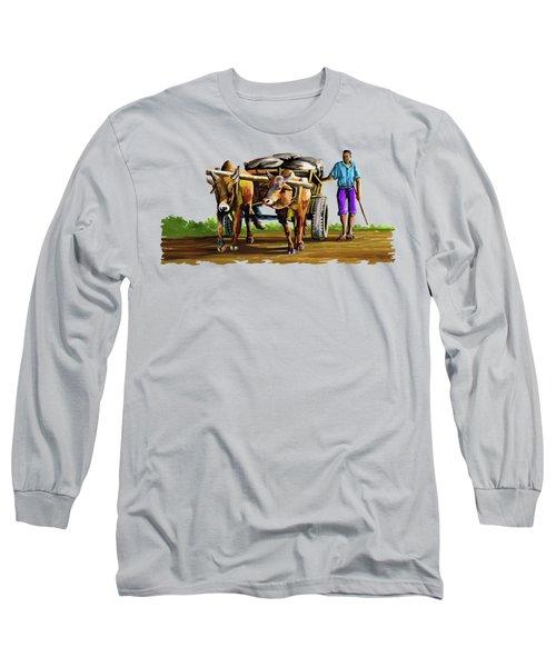 Cart Man Long Sleeve T-Shirt