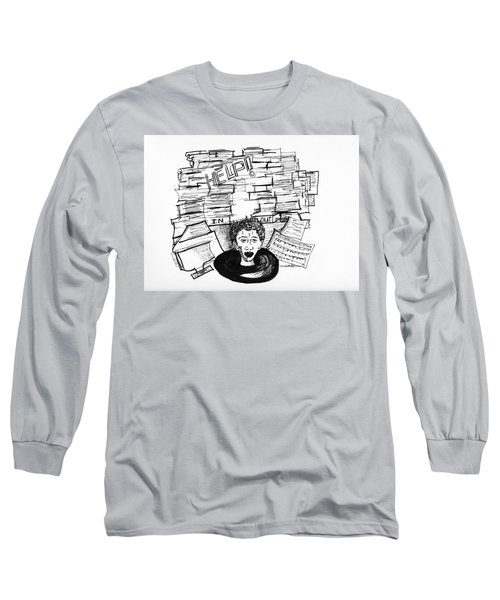 Cartoon Inbox Long Sleeve T-Shirt