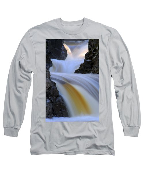 Cascade At Dawn Long Sleeve T-Shirt