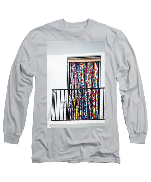 Cascade Of Colour Long Sleeve T-Shirt