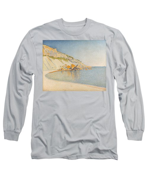 Long Sleeve T-Shirt featuring the painting Cassis. Cap Lombard. Opus 196 by Paul Signac