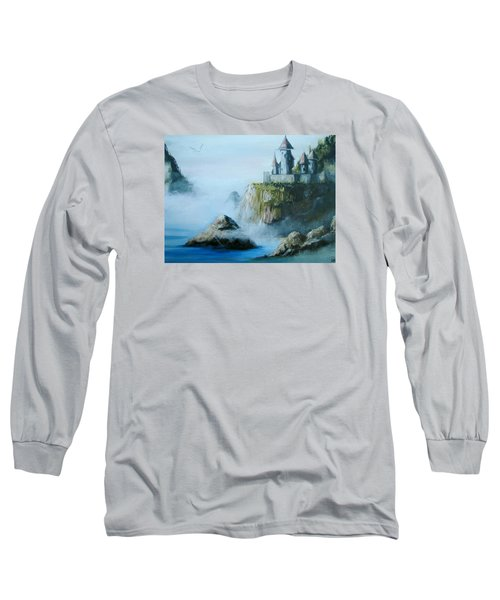 Castle At Dragon Point Long Sleeve T-Shirt