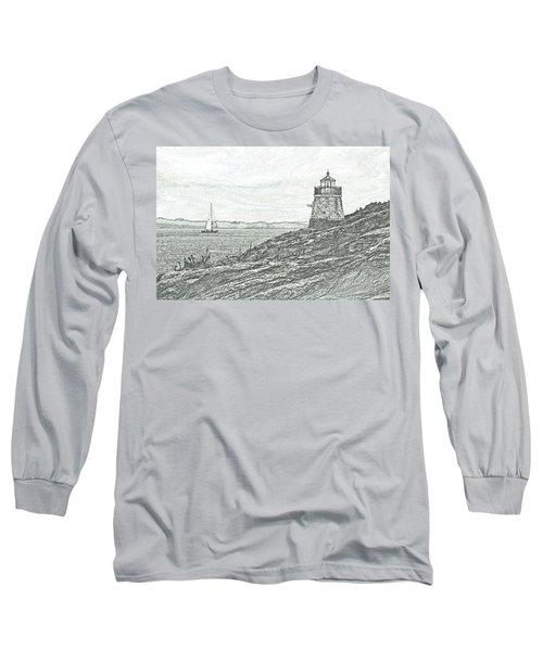 Castle Hill Lighthouse Long Sleeve T-Shirt
