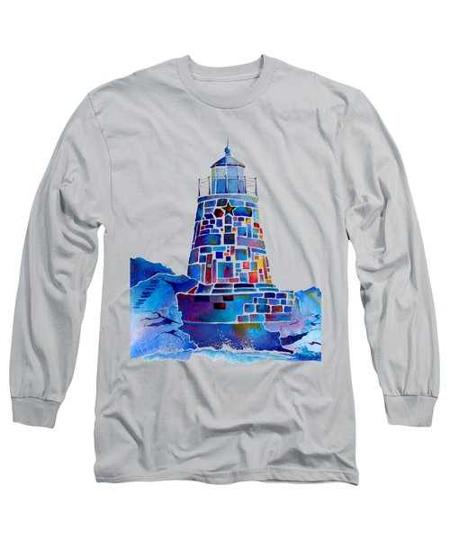 Castle Hill Newport Lighthouse Long Sleeve T-Shirt