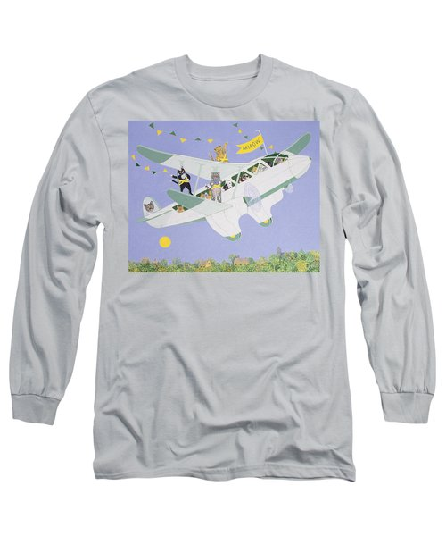 Cat Air Show Long Sleeve T-Shirt