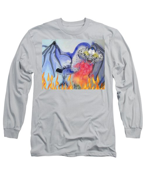 Cat Dragon Long Sleeve T-Shirt