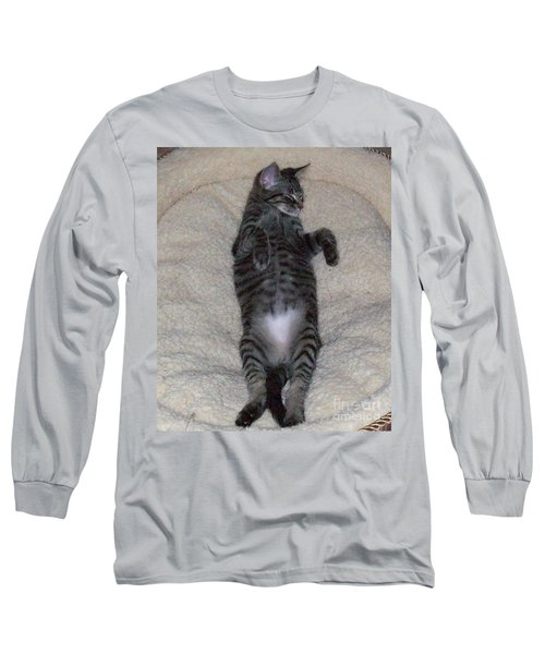 Cat In Repose Long Sleeve T-Shirt