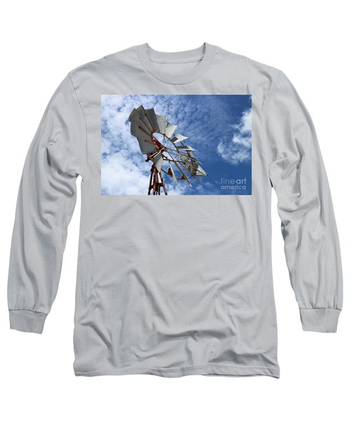 Long Sleeve T-Shirt featuring the photograph Catching The Breeze by Stephen Mitchell