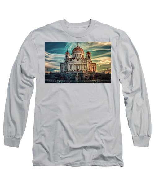 Cathedral Of Christ The Saviour Long Sleeve T-Shirt