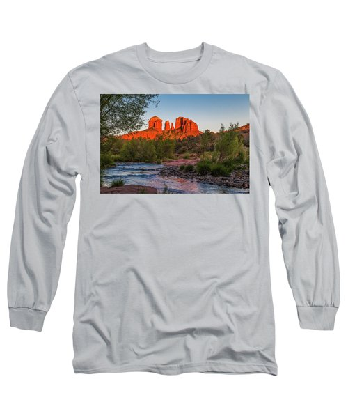 Cathedral Rock At Red Rock Crossing Long Sleeve T-Shirt