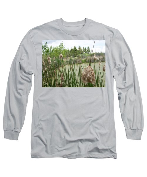 Cattails Long Sleeve T-Shirt