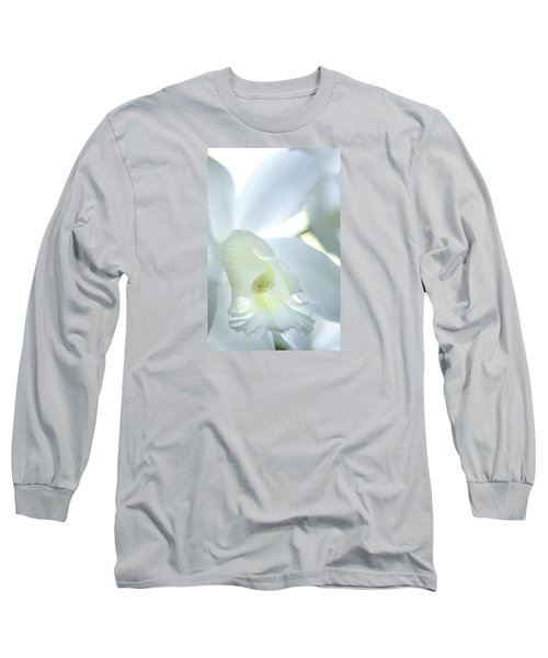 Cattleya Orchid #1 Long Sleeve T-Shirt by George Robinson