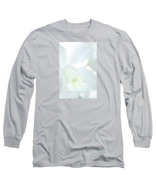 Cattleya Orchid #1 Long Sleeve T-Shirt
