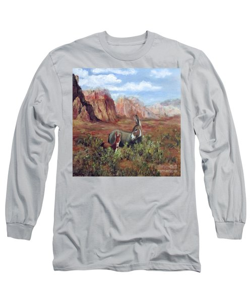 Caught In The Brush Long Sleeve T-Shirt