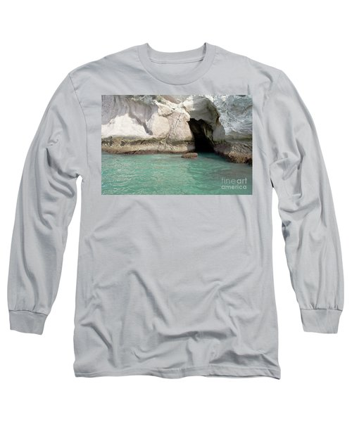 Long Sleeve T-Shirt featuring the photograph Cave Entranve by Yurix Sardinelly