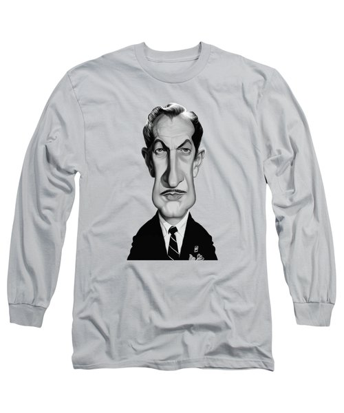 Celebrity Sunday - Vincent Price Long Sleeve T-Shirt