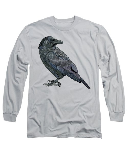 Celtic Raven Long Sleeve T-Shirt