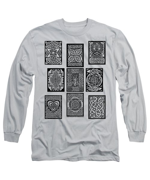 Celtic Tarot Spread Long Sleeve T-Shirt