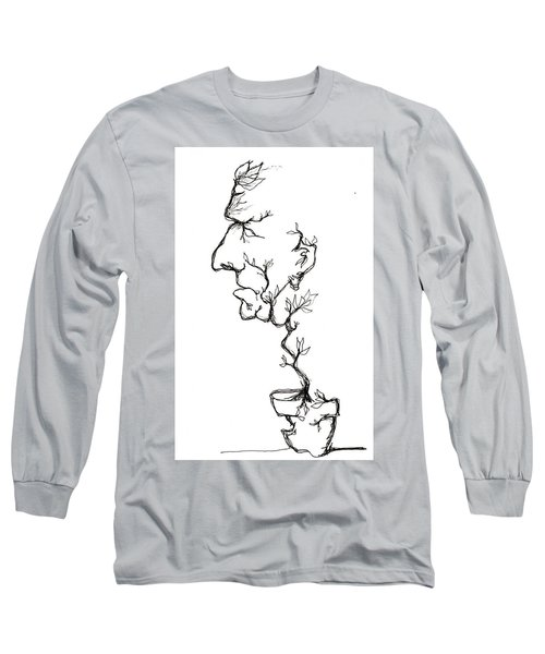 Cesar Salad-cracked Pots Long Sleeve T-Shirt