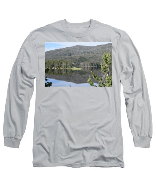 Chambers Lake Hwy 14 Co Long Sleeve T-Shirt