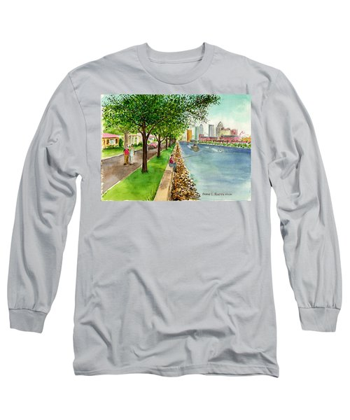 Channel Drive Tampa Florida Long Sleeve T-Shirt
