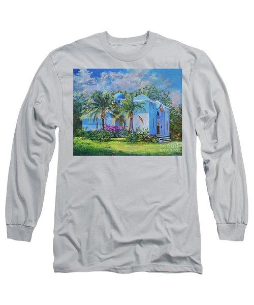 Chapel Of St. Panteleimon Long Sleeve T-Shirt by AnnaJo Vahle