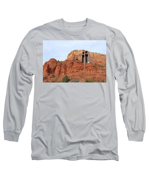 Chapel Of The Holy Cross Long Sleeve T-Shirt