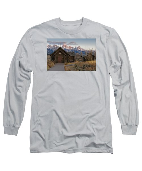 Chapel Of The Transfiguration - II Long Sleeve T-Shirt by Gary Lengyel