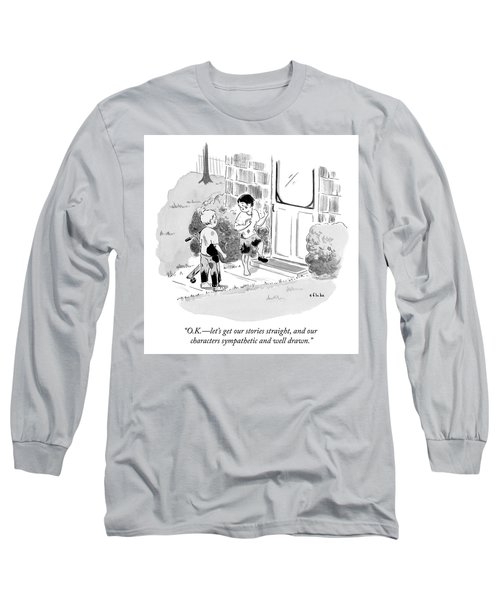 Characters Sympathetic And Well Drawn Long Sleeve T-Shirt