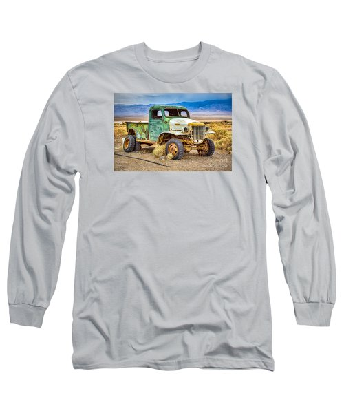 The Charles Manson Forgotten Getaway Truck Long Sleeve T-Shirt