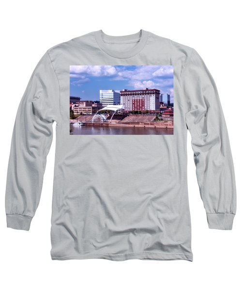 Charleston West Virginina Long Sleeve T-Shirt by L O C