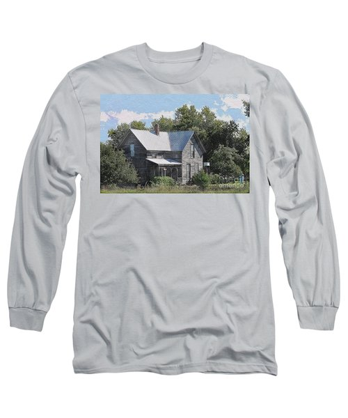 Charming Country Home Long Sleeve T-Shirt